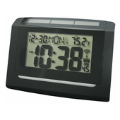Windsor Solar Hybrid with Solar Panel Atomic Wall / Desk Clock - PLR6392