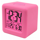 Aqua Pear Buckfastleigh Soft Cube LCD Alarm Clock by LCT - PLR6624