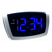 Aqua Pear Woodbridge LED Alarm Clock by LCT - PLR6390