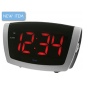 Aqua Pear Bollington LED Digital Alarm by LCT - PLR6636