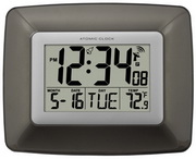 Aqua Pear Atomic Digital Wall Alarm Clock by LCT - PLR6700