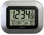 Aqua Pear Bedale Atomic Digital Wall Alarm Clock by LCT - PLR6706