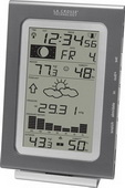 Aqua Pear Alford Wireless Forecast Station with Pressure History by LCT - PLR6726