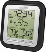 Aqua Pear Barton Wireless Weather Station with Forecast by LCT - PLR6738