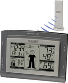 Aqua Pear Ashington Wireless Weather Station Sun / Moon & Advanced Forecast Icon by LCT - PLR6750