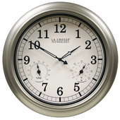 PLR 18in Ashington Indoor/Outdoor Quartz Wall Clock - PLR6766