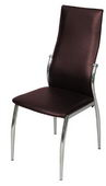 Designer Dining Chair - Brown (set of 4)