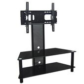 Designer 42 in. Onyx TV Stand w. Mount - 2 Level