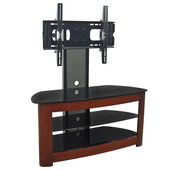 Designer 42 in. Regal TV Stand w. Mount - Wood