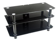 Designer 42 in. Contempo Black TV Stand - PWA1191