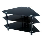 Designer 44 in. Bermuda Black TV Stand - PWA1197