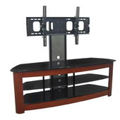 Designer 60 in. Regal TV Stand w. Mount - Wood
