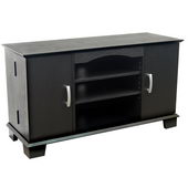Designer 42 in. Morristown Wood TV Console Black - PWA1218