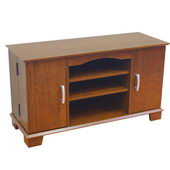 Designer 42 in. Morristown Wood TV Console - Brown