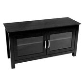Designer 44 in. Columbus Wood TV Console Black - PWA1230