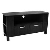 Designer 44 in. Coronado Wood TV Console Black - PWA1236