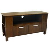 Designer 44 in. Coronado Wood TV Console - Brown