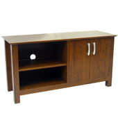 Designer 44 in. Cordoba Wood TV Console - Brown