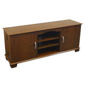 Designer 60 in Jamestown Wood TV Console - PWA1257