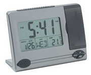 Desk Mate Clock LCD Alarm Clock with Date and Temperature - RCA5604