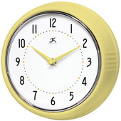9.5in Retro Iron Wall Clock - TFT5898