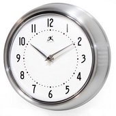 9.5in Retro Iron Wall Clock - TFT5902