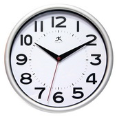9in Retro Wall Clock - TFT5974