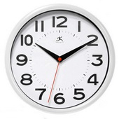 9in Retro Wall Clock - TFT5976