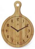 The Chef Bamboo Wall Clock - TFT5992