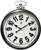 Classic Pocket Watch Style Wall Clock The Look Of New York Broadway - TFT5870