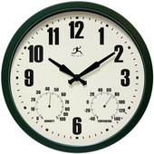 14in Indoor/outdoor wall clock - TFT6072