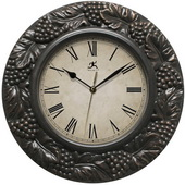 13.5in Grape Design Wall Clock - TFT6094