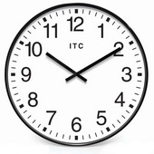 19in Office Style Wall Clock - TFT6106