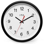14in Radio Controlled Wall Clock - TFT6118