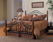 Madison Bed Set - King - w/Rails - THD6616