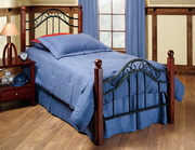 Madison Bed Set - Twin - Rails not included - THD6622