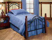 Madison Bed Set - Twin - w/Rails - THD6624