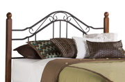 Madison Headboard - Twin - w/Rails - THD6642