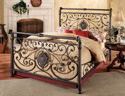 Mercer Bed Set - Queen - w/Rails - THD6782