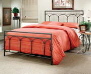 McKenzie Bed Set - King - w/Rails - THD6740