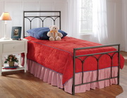 McKenzie Bed Set - Twin - w/Rails - THD6748