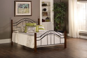 Matson Bed Set - Twin - Rails not included - THD6696