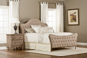 Jefferson Queen Bed Set w/ rails - THD6074