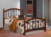 Burton Way Bed Set - King - w/Rails - THD5330