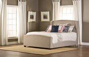 Barrington Queen Bed Set w/ rails - THD5006