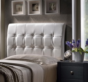 Lusso Headboard - Twin - w/Rails - THD6544