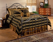 Kendall Bed Set - Queen w/Rails - THD6184