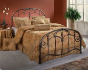 Jacqueline Bed Set - Queen - w/Rails - THD6036