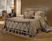 Silverton Bed Set- Full - w/Rails - THD7372
