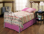 Victoria Bed Set - Twin - Rails not included - THD7670